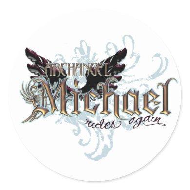 Angels Galore! Classic Round Sticker