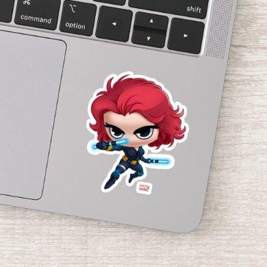 Avengers | Black Widow Stylized Art Sticker