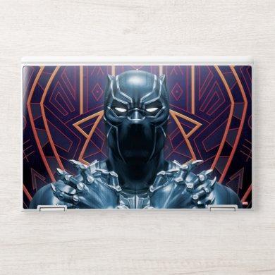 Avengers Classics | Black Panther Salute HP Laptop Skin