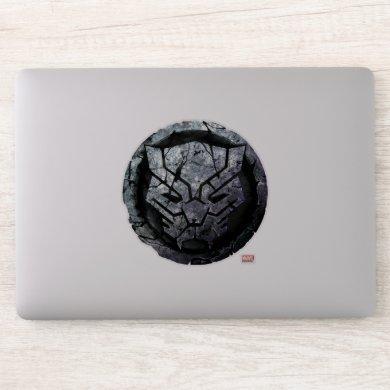 Avengers Classics | Black Panther Stone Emblem Sticker