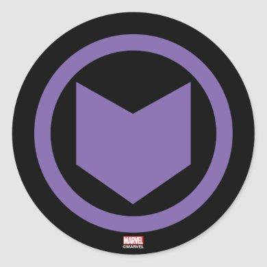 Avengers Classics | Hawkeye Arrow Icon Classic Round Sticker