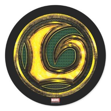 Avengers Classics | Loki Symbol Classic Round Sticker