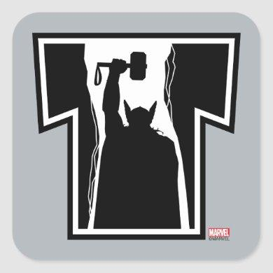 Avengers Classics | Thor Icon Square Sticker