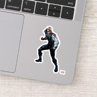 Avengers Classics | Winter Soldier In Snow 2 Sticker