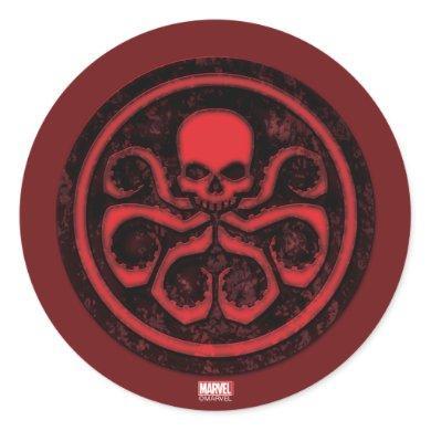 Avengers | Hydra Logo Classic Round Sticker