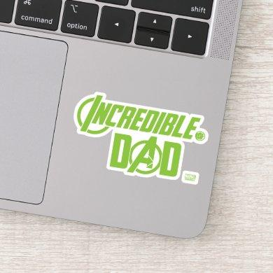 Avengers | Incredible Dad Sticker