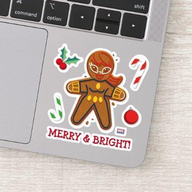 Avengers Seasonal | Black Widow Cookie Sticker