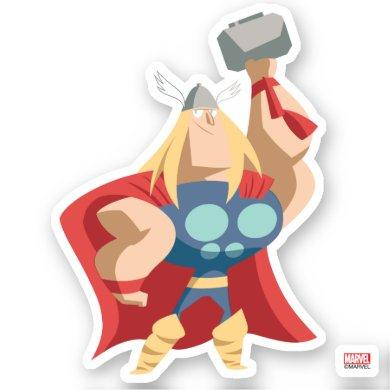 Avengers Seasonal | Thor Sticker