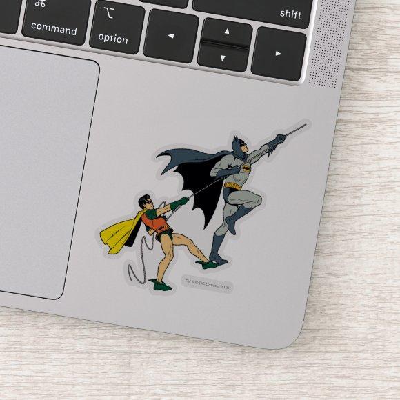 Batman And Robin Climb Sticker