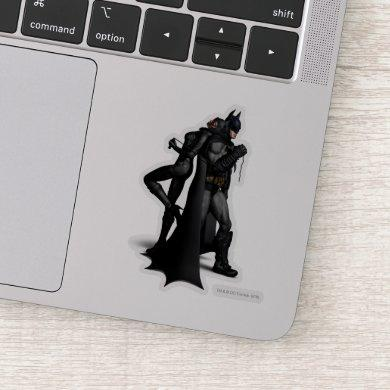 Batman Arkham City | Batman and Catwoman Sticker