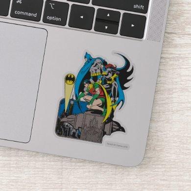 Batman/Batgirl/Robin Sticker