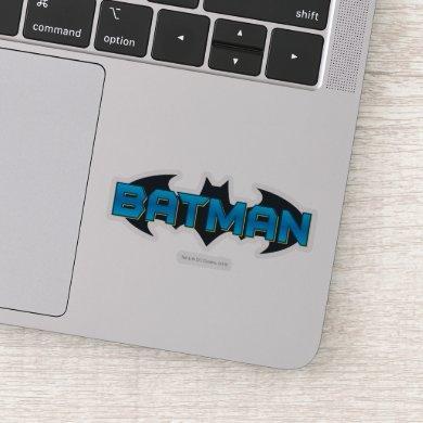Batman | Blue Name Logo Sticker