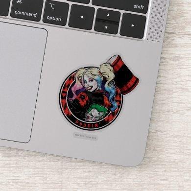 Batman | Harley Quinn Winking With Mallet Sticker