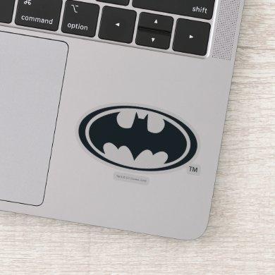 Batman Symbol | Black and White Logo Sticker