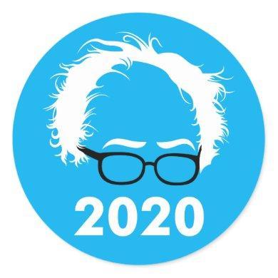 Bernie Sanders Wild Hair 2020 Sticker