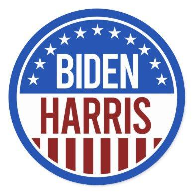 Biden Harris 2020 Classic Round Sticker