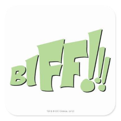 BIFF!!! SQUARE STICKER