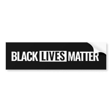 Black lives matter Custom Bumper Sticker