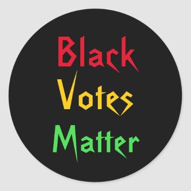 Black Votes Matter Sticker