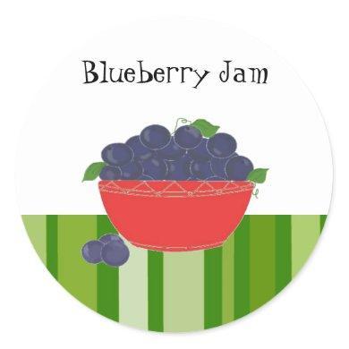 Blueberry Jam Stickers