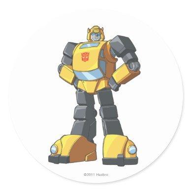 Bumblebee 1 classic round sticker