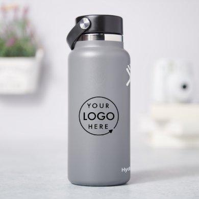 Business Logo | Professional Branded Water Bottle Sticker
