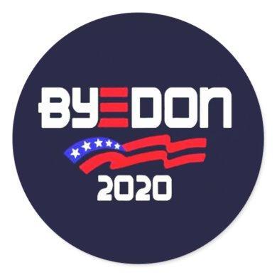 ByeDon 2020 Classic Round Sticker