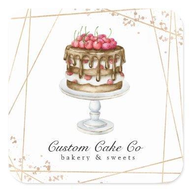 Cake / Bakery Business Sticker