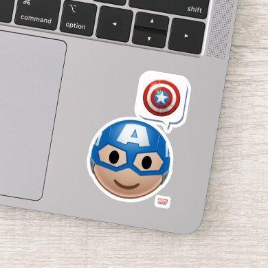 Captain America Emoji Sticker