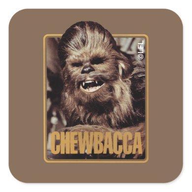 Chewbacca Badge Square Sticker