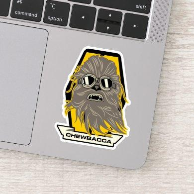 Chewbacca Goggles Graphic Sticker