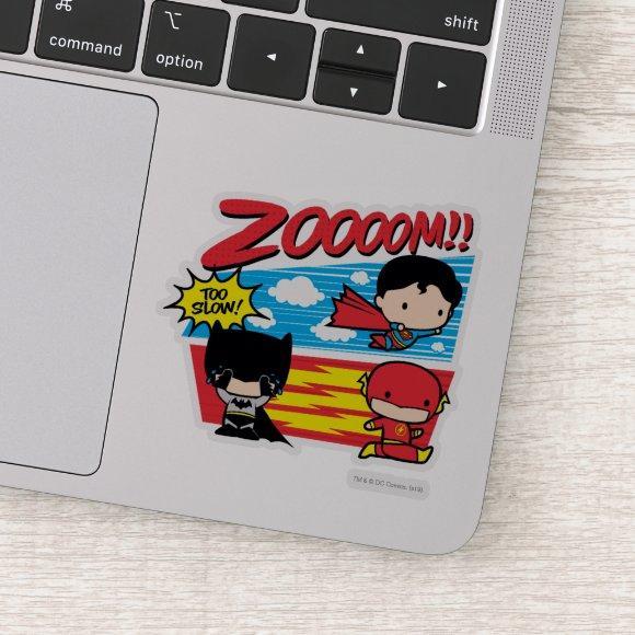 Chibi Batman Too Slow! Sticker