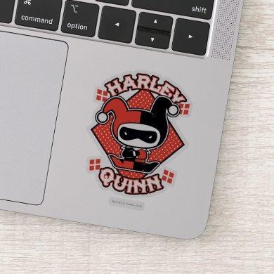 Chibi Harley Quinn Splits Sticker