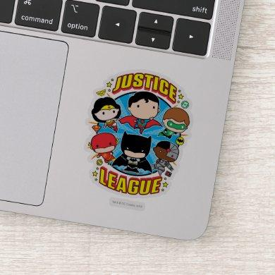 Chibi Justice League Group Sticker