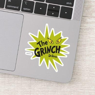Classic The Grinch | Green Starburst Sticker