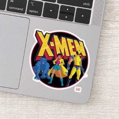 Classic X-Men | Beast, Jubilee, & Wolverine Icon Sticker