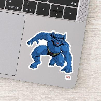 Classic X-Men | Beast Three-Point Landing Sticker