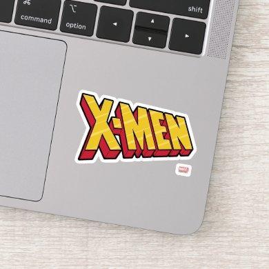 Classic X-Men | Red & Gold X-Men Logo Sticker