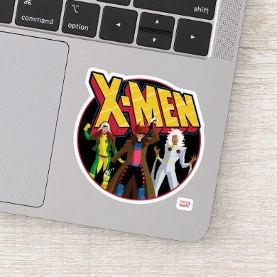 Classic X-Men | Rogue, Gambit, & Storm Icon Sticker