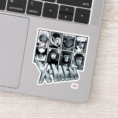 Classic X-Men | Silver Team Roster Sticker