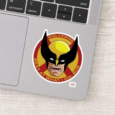"Classic X-Men | Wolverine ""Best At What I Do, Bub"" Sticker"