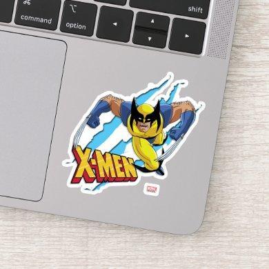 Classic X-Men | Wolverine Slash Pattern Sticker