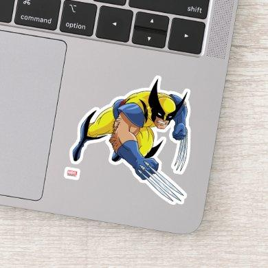 Classic X-Men | Wolverine With Claws Out Sticker