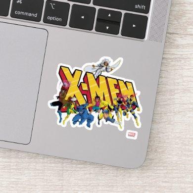 Classic X-Men | X-Men Character Pattern Sticker