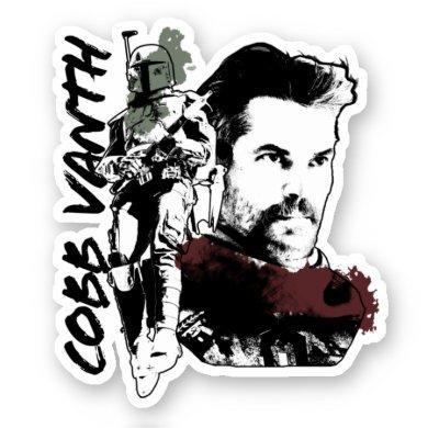 Cobb Vanth Character Graphic Sticker