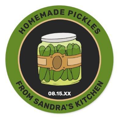 Custom Homemade Pickles | Jar Food Labels