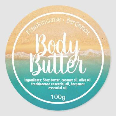 Customizable Body Butter Label