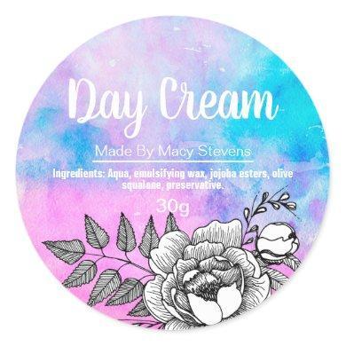 Customizable Day Cream Label