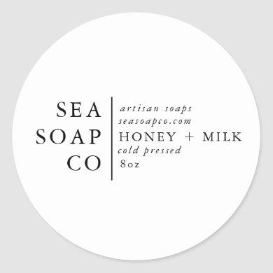 Customizeable Soap Stickers
