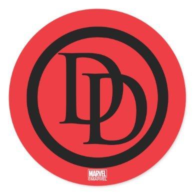 Daredevil Logo Classic Round Sticker